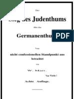 Marr, Wilhelm - Der Sieg Des Judenthums Ueber Das Germanenthum (1879, 48 S., Text)