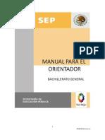 Manual Para El Orientador