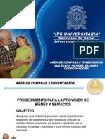 Compras e Inventarios Ips Universitaria