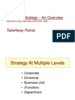 Marketing Strategy an Overview