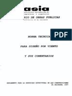 Norma Tecnica Para Diseño por Viento (El Salvador, 1997)