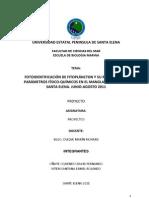 Proyecto de Fitoplancton