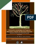Orientación metodológica del PAPEP. Autor Marcel Arvea Damián