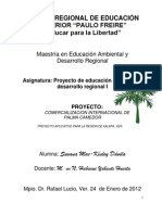Proyecto Palma Camedor