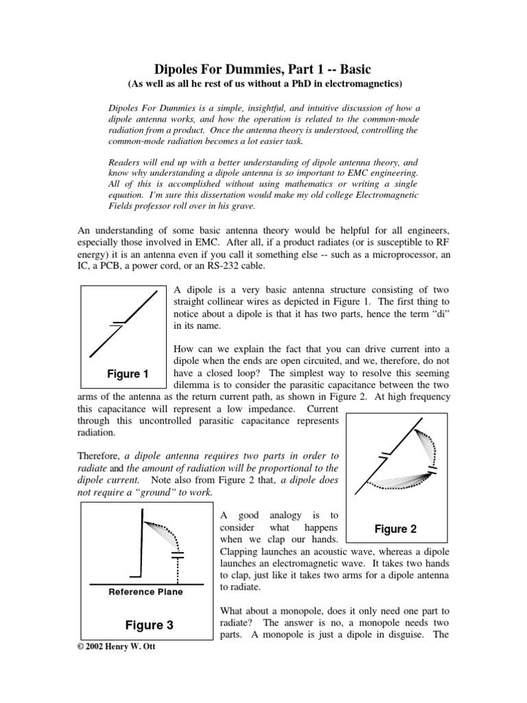 Dipole Antenna Basics | Antenna (Radio) | Electromagnetic