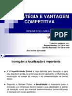 Estratégia e Vantagem Competitiva