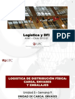 UPC LOGISTICA Y DFI Unidad 5 Sem 9 Logistica de Distribucion Fisica Internacional Gestion Carga Envases Embalajes