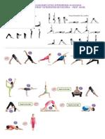 Serie de Yoga Dinámico Intermedios-Avanzados. Extensiones de columna