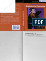 Fundamentals of Semiconductor Fabrication (2004) by Simon M. Sze