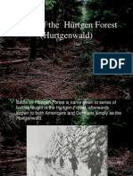 Battle of the Hurtgen Forest (Hurtgenwald)