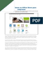 Microsoft Lanza Su Office Store Para Empresas