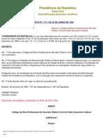 Decreto 1.171_Ética Servidor Público Federal