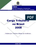 CARGA TRIBUTARIA 2008 - APRESENTAÇÃO I