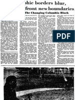 1975 Missourian story on post-segregation Columbia