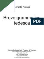 98650488 Breve Grammatica Tedesca