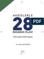 Hadislerle 28 Basamak İslam _ Abdulcabbar Boran
