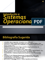 # 2 - Introdução a SISTEMAS OPERACIONAIS