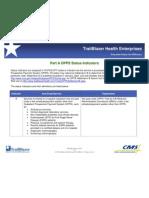 Opps Status Indicators 2010