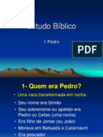 Estudo Biblico Sobre 1 Pedro