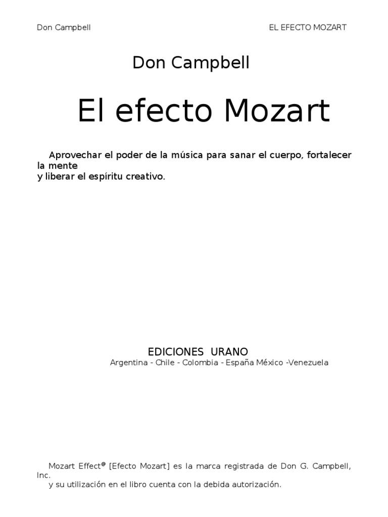 Don Campbell - El Efecto Mozart