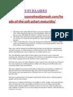 Ashari Sufis