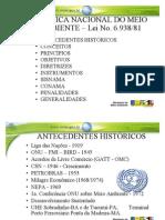 Politica Nacional do Meio Ambiente Lei 6.938-81