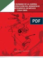 """Informe Bourbaki sobre la """"guerra contra el narcotráfico"""" en México"""