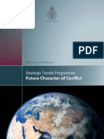 Strategic Trends Prgramme - Future Character of Conflict