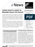 Talbot Green Labour News (August 2004)