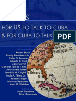 9 Ways for US to Talk to Cuba and for Cuba to Talk to US