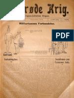 Den røde Krig - 1. årgang, nr. 4, september 1918