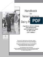 Handbook for Vets Dairy Producers