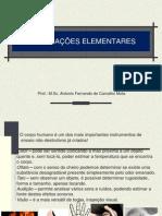 VERIFICAÇÕES ELEMENTARES 2