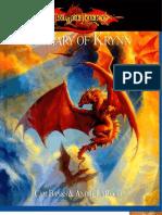 Dragonlance Bestiary of Krynn by Azamor