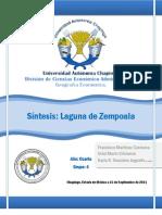 Sintesis de La Laguna de Zempola