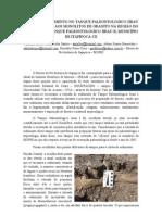 COLETA DE SEDIMENTO E PROSPECÇÃO  - Antônio Santos, Adson Benevides e Benedito Cruz