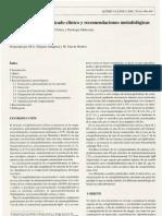 Proteínas-F-Crioglobulinas. Significado clínico y recomendaciones metodologicas (2001)