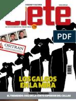Semanario Siete- Edición 40