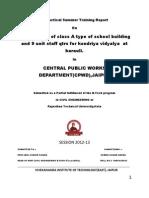 Civil Tranning Report