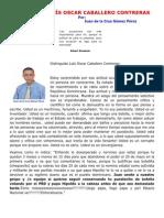 RESPUESTA A LUÍS OSCAR CABALLERO CONTRERAS