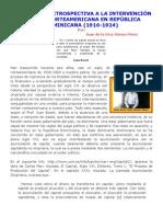 UNA MIRADA RETROSPECTIVA A LA INTERVENCIÓN MILITAR NORTEAMERICANA EN REPÚBLICA DOMINICANA (1916-1924)