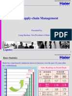 Haier Supply Chain