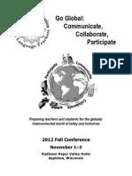 2012 WAFLT Preconference Booklet