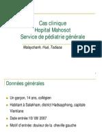 Polyarthrite Febrile Chez Un Enfant de 14 Ans