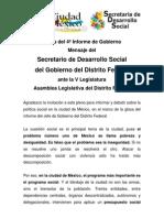 (3) Mensaje Ante La Asamblea Legislativa Del DF 2010