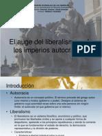 El Auge Del Liberalismo y de Los Imperios
