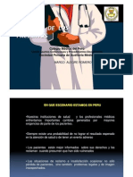 Deberes y Derechos de Los Pacientes en El Peru