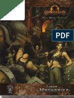 Iron Kingdoms - Liber Mechanika by Azamor
