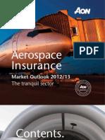 AON 640 Aerospace Outlook Brochure WEB