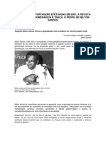 O Perfil de Milton Santos